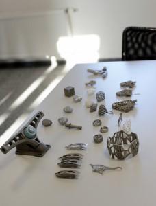 3D metal tisk